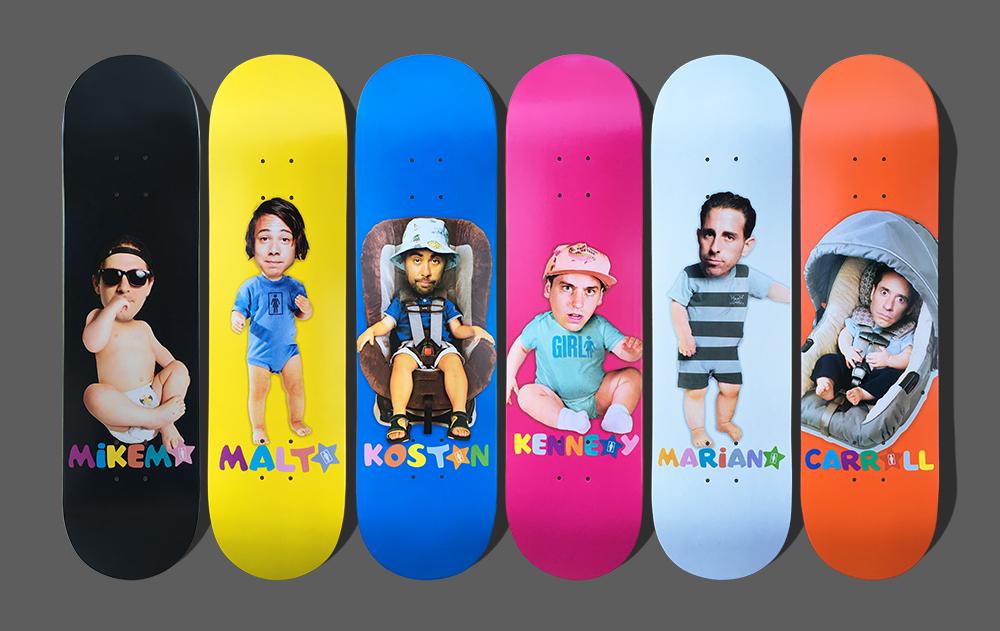 Girl Big Babies Series Gallery